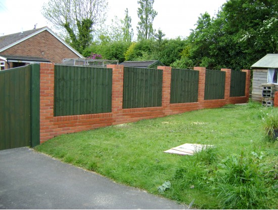 Fence Panel Brick Wall Fence Panel Suppliers Fence